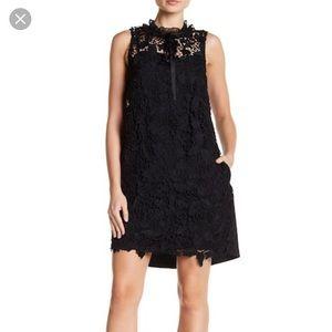 Black kensie lace dress